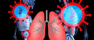 Необратимые процессы в органах дыхания у умерших от коронавируса