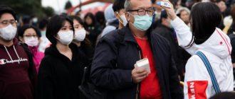 Люди в защитных медицинских масках